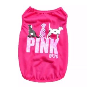 Other - 🐶 Dog clothes pink dog Xs, S, M, L